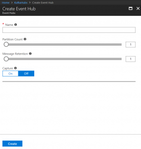 Acessing Event Hubs with Confluent Kafka Library – Note to self